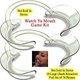 Original Watch Ya Mouth Game Kit with 10 Size Large Retractors