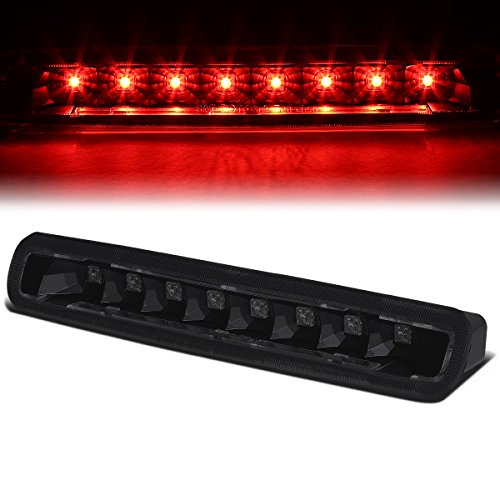 2006 Mustang Pony (Ford Mustang 5th Gen Pony Shelby High Mount LED 3rd Third Brake Light (Black Housing Smoked Lens))