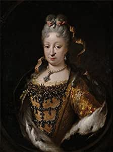 Oil painting 'Melendez Miguel Jacinto Isabel de Farnesio reina de Espana 1718 22 ' printing on polyster Canvas , 30 x 40 inch / 76 x 102 cm ,the best Living Room gallery art and Home decoration and Gifts is this Replica Art DecorativePrints on Canvas