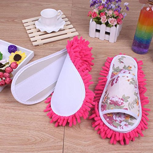 Jushye Hot Sale !!! MOP Slippers, Women Dust MOP Slippers Socks Microfiber House Slippers Bedroom Shoes (Hot - Hot Uk Women