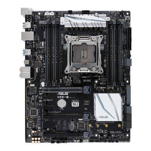 ASUS X99-E LGA2011-v3 5-Way Optimization SafeSlot Aura RGB ATX Motherboard
