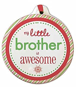 Big and Little Brother and Sister Christmas Ornaments Awesome! (Little Brother)