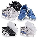 Tutoo Unisex Baby Boy Girl Canvas Sneaker Soft Sole