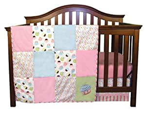 Trend Lab Cupcake 3 Piece Crib Bedding Set