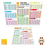 Instapot Cheat Sheet Magnet Set - Instant Pot Cook Times Cookbook – Power Cooker Quick Reference Guide Magnets
