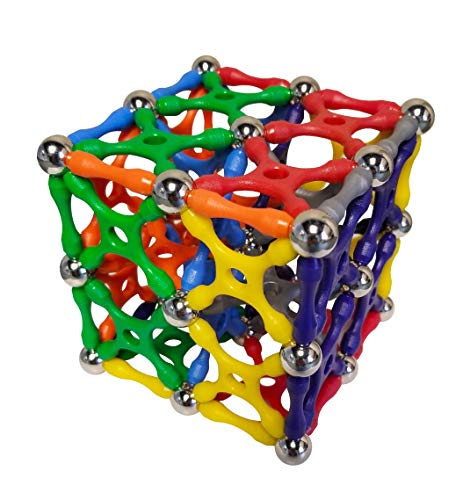 (Magz-X 96 Classic Magnetic Building Set consisting of 24 Xs, 24 rods and 48 Steel Balls)