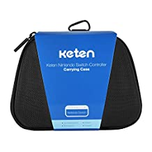 Switch Pro Controller Case – Keten Protective Hard Portable Travel Carry Case Shell Pouch for Nintendo Switch Pro Controller (Black)