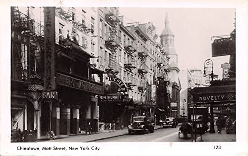 Chinatown New York City New York Postcard At Amazon S Entertainment Collectibles Store
