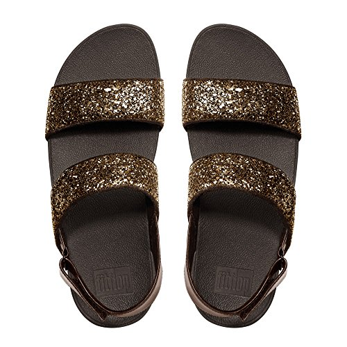 Sandalo Fitflop Donna Glitter Sandal Brown (glitter Bronzo)