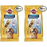 PEDIGREE DENTASTIX Large Dog Dental Treats 56 Pack, 56 Count … (Large Dog, 2 Pack)