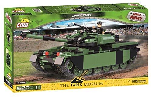 Main Tank British Battle (Cobi Small Army Military block WWII # 2494 British Chieftain main battle tank Chieftain [COBI Japan regular sole agent])