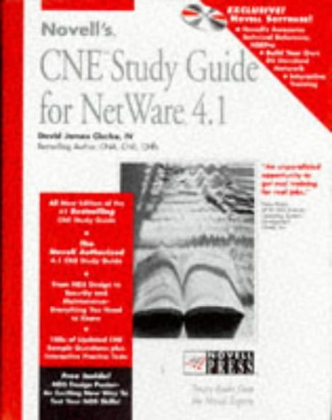 Novell's Cne Study Guide for Netware 4.1 (Novell Press) by Brand: John Wiley n Sons Inc (Computers)
