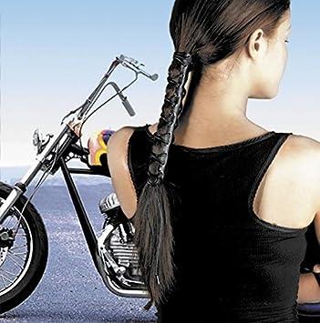 Amazon.com   Hair Glove 8 Inch Laced Biker Hair Accessory   Ponytail Holders    Beauty 0fa36bd55ec