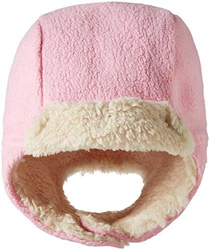 Zutano Unisex Baby Cozie Fleece Furry Hat, Hot Pink, 12M