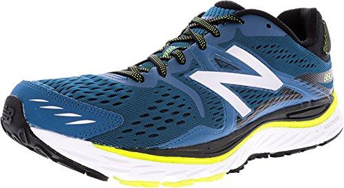 New Balance Mens M880v6 Running Shoe,Blue/Yellow,US 11.5 D
