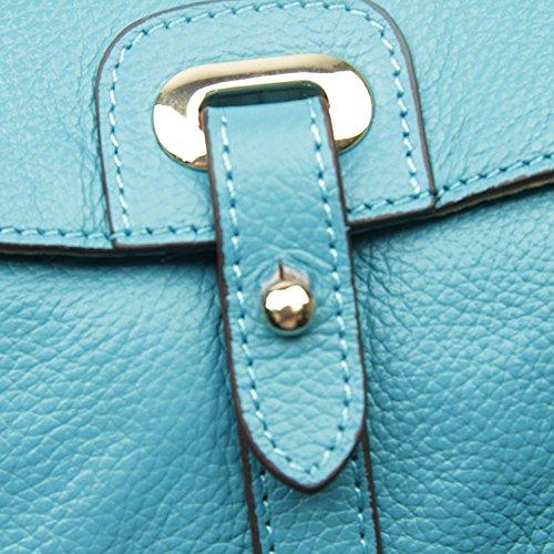 Enzo Design - Bolso al hombro para hombre Azul azul