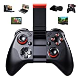 Wireless Bluetooth Game Controller,KINGEAR PG-9037 Bluetooth Gamepad Joysticks (with Mouse Function) for Android