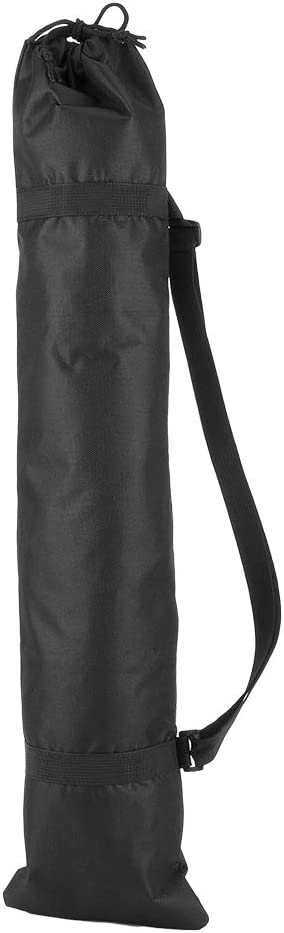 Bewinner Camera Tripod Bag Black Portable Folding Outdoor Oxford Padded Tripod Bag Strap Camera Tripod Photography Carry Bag for Camera Tripod, Monopod, Microphone Tripod(75cm)