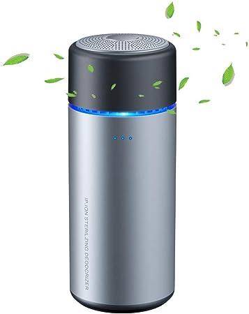 Xtrdye Purificador De Aire USB para Automóvil Purificador De Aire USB Además De Formaldehído, Olor, Humo, Iones Negativos, Ozono, Ionizador De Ion Negativo Portátil: Amazon.es: Hogar