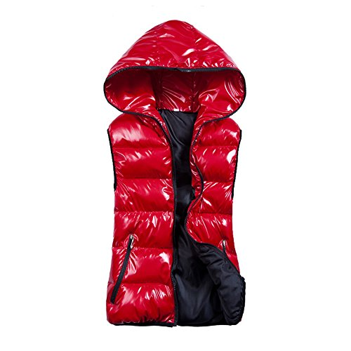 Bestfort Westen mit Kapuze Damen Daunenwesten f¨¹r Winter Outdoor