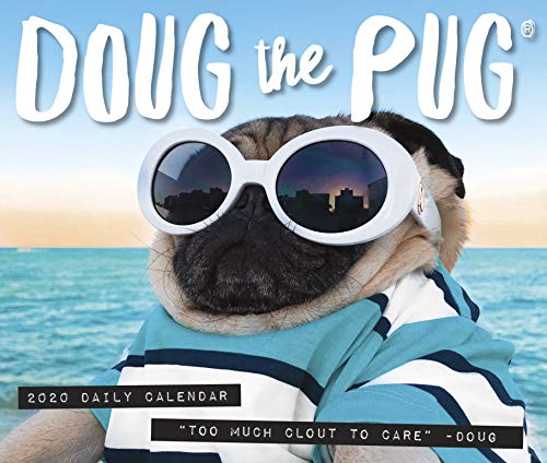 Doug the Pug 2020 Box Calendar (Dog Breed Calendar) por Leslie Mosier