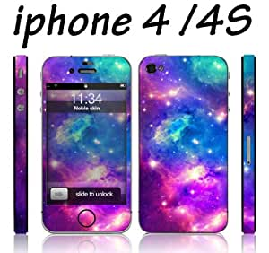 Easygoby Fashionable Nebula Design Full Body Vinyl Decal Sticker For Samsung Galaxy S5 Mini Case Cover