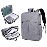 Garybank Waterproof Slim Laptop Backpack For Women Men Both Top Loader and Panel Loader Business Backpack Good For College School Travel Shoulder Tech Bag Up to 16