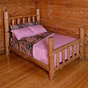 PINK FOREST CAMO 6-Piece MicroFiber Sheet and Pillowcase Set -Queen-