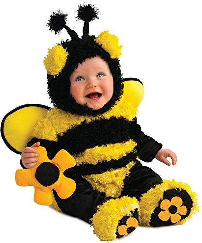 [Rubie's Costume Noah's Ark Buzzy Bee Romper Costume, Yellow, 12-18 Months] (Cute Halloween Costumes For Newborn Babies)
