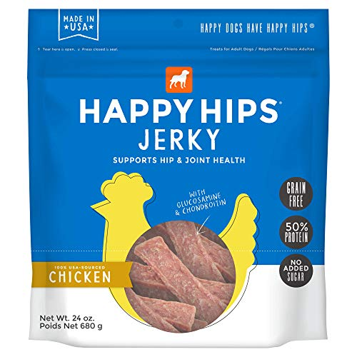 Happy Hips Jerky Grain-Free Chicken - 24 oz