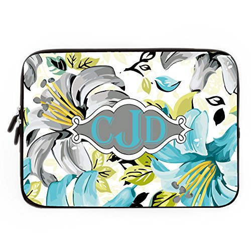 Personalized 17 Inch Water Resistant Laptop Notebook Computer Soft Neoprene Sleeve Case Bag Pouch Carrying Holder Protector For 7