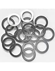 Prime Ave Oil Drain Plug Washer Gaskets Compatible With Mazda Part# 9956-41-400 (Package of 20)