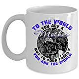 Best i-Custom World Holiday Evers - To Your Family You Are The World Coffee Review