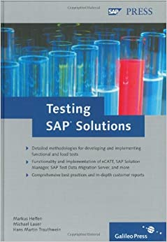 Book Testing SAP Solutions