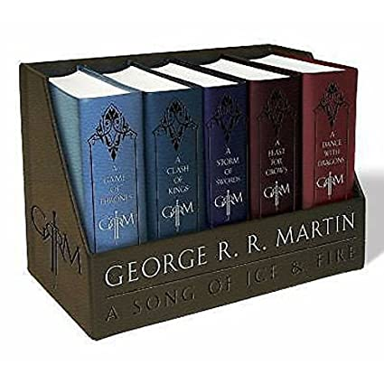 Amazon.com: New George R. R. Martins una Boxed Set Game of ...