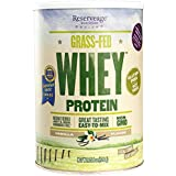 Reserveage - Grass Fed Whey Protein, Minimally Processed with High Biological Value, Vanilla, 24 Servings (25.4 oz)