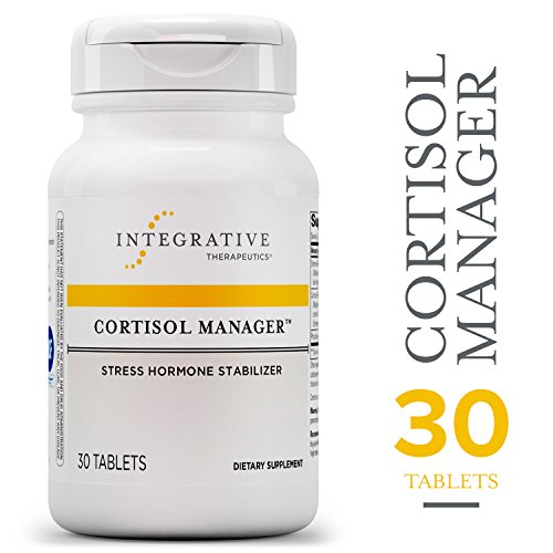 Cortisol Manager - Integrative Therapeutics - Sleep, Stress, and Cortisol Support Supplement* with Ashwagandha, Magnolia, and L-Theanine - Support Adrenal Health* - Vegan - 30 Tablets