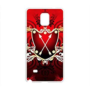 Festival Red Badge Custom Protective Hard Phone Cae For Samsung Galaxy Note4