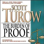 The Burden of Proof   Scott Turow