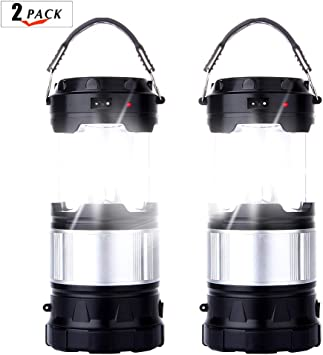 Outdoor Camping Lantern Portable 11LED Hiking Night Light Lamp Flashlights