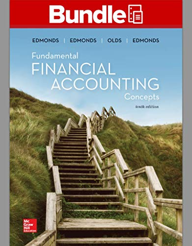 GEN COMBO LL FUNDAMENTAL FINANCIAL ACCOUNTING CONCEPTS; CONNECT AC