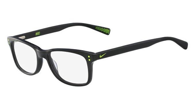 Nike 5538 010 46, Monturas de Gafas Unisex-niños, Black/Volt: Amazon.es: Ropa y accesorios