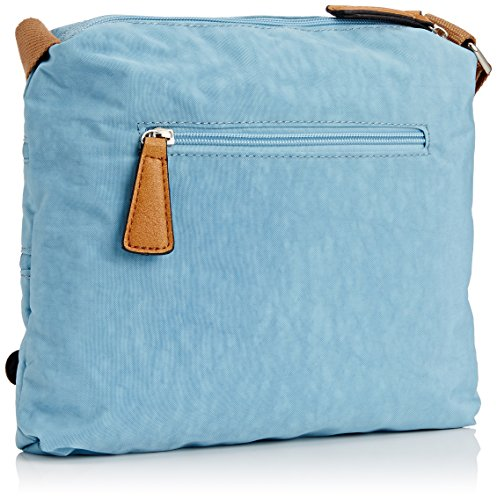 SwankySwans - Riley Cat Designer, Borsa a tracolla Donna Blue (Light Blue)