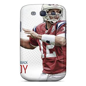 New GAwilliam Super Strong New England Patriots Tpu Case Cover For Galaxy S3 by icecream design