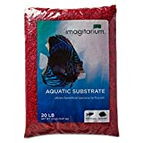 Imagitarium Strawberry Red Aquarium Gravel, 20 LBS