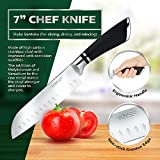 4 Pack Kitchen Knives Set: Chef Knife, Carving Knife, 2-Stage Knife Sharpener And Finger Guard – Professional Stainless Steel Cooking Equipment And Ergonomic Sharpening System By Fibonacci Kitchen