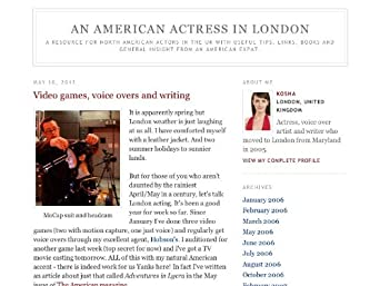 An American Actress in London