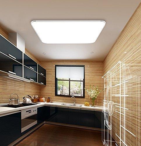 SAILUN 24W Kaltweiss Ultraslim LED Deckenleuchte Modern Deckenlampe Flur Wohnzimmer Lampe From