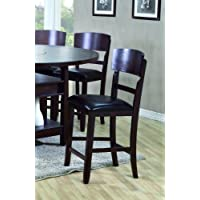 Conner Counter Height Chair (Set of 2) by Crown Mark
