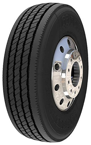 Double Coin RT600 Premium Low Profile Regional/All-Position Steer Commercial Radial Truck Tire - 225/70R19.5 12 ply